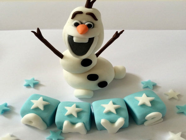 Olaf cake toppers