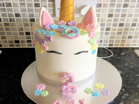 Edible Unicorn cake Topper decorations