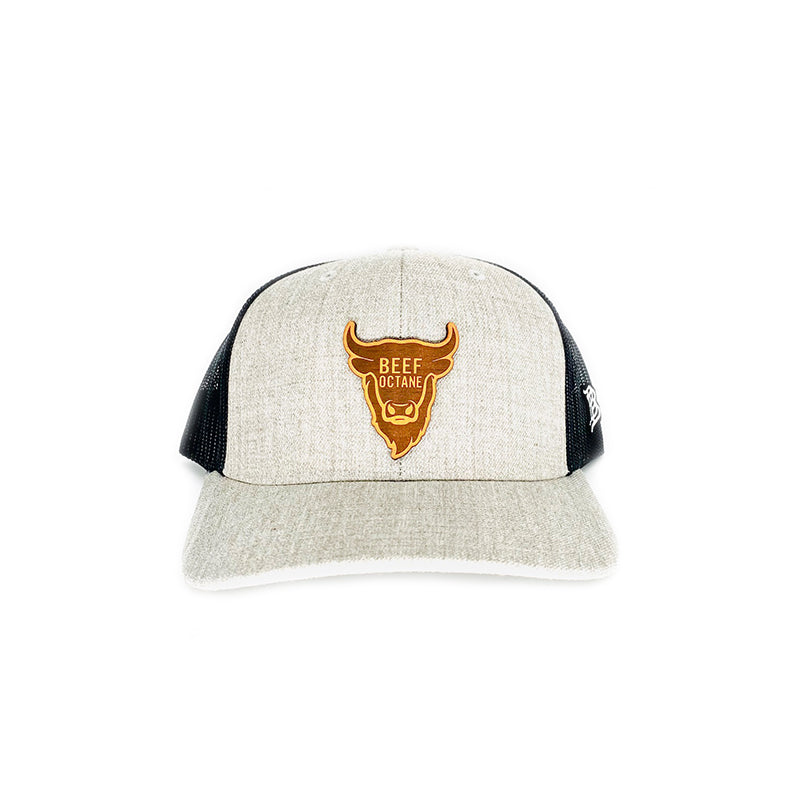 BEEF OCTANE TRUCKER HAT - GRAY