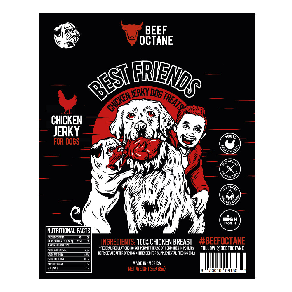 BEEF OCTANE | BEST FRIENDS DOG JERKY
