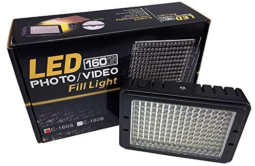 Dimmable Ultra High Power Panel Digital Camera or Camcorder Video Light, LED Light PT204S