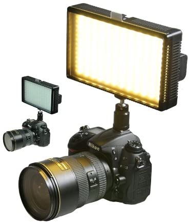 Professional LED Light 312 LED Bi-Color Changing Dimmable LED Video DSLR Camera Light Panel LED312