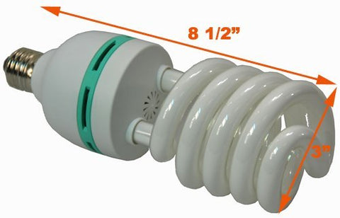 HHydroponic Full Spectrum  CFL Grow Light Bulb 60 Watt