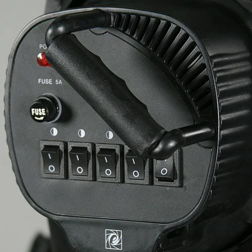 Video Studio Photograph 5 Light Heasd with On/Off Switch