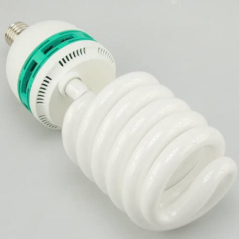 Replacement Hugh 85 Watt Photography Video Daylight Spiral Compact Fluorescent Light Bulb 85W