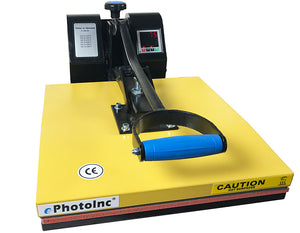 "New 15"" X 15"" Clamshell Heat Press T-Shirt Digital Transfer Sublimation Machine EPH15Y"