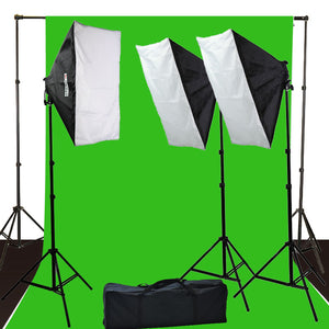 Complete Photography Video Studio Light Kit