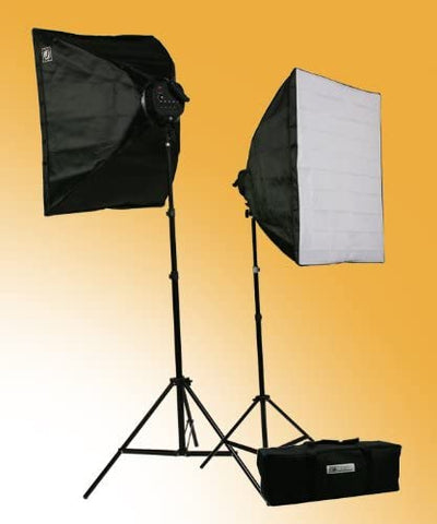 3000-Watt Digital Photography Studio Video Lighting Kit 2 Softbox Studio Video Light