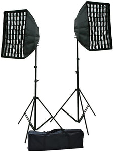 Photography Photo Portrait Studio Video 1600 Watt Perfect Day Light Softbox Continuous Video Lighting Kit by ePhotoInc HGDS2