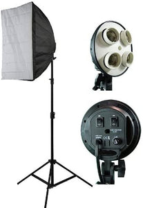 Photograpy Video DSLR Camera Lighting Kit Studio Photo Softbox Lighting HS4