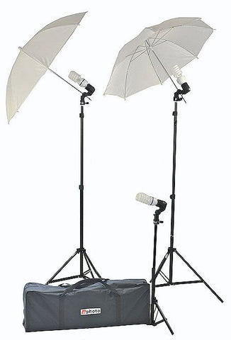 PHOTOGRAPHY VIDEO CONTINUOUS LIGHTING UMBRELLA KIT U303