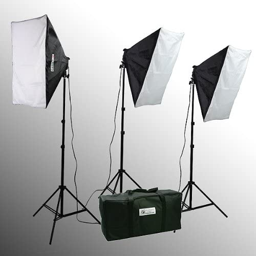 2400 Watt Photo Studio Softbox Kit with Carrying Case