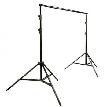 Photography Video Boom Lighting Light Kit 3 Muslin Background Support Stand Case