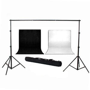 PREMIUM STUDIO BACKDROP BACKGROUND SUPPORT STAND KIT