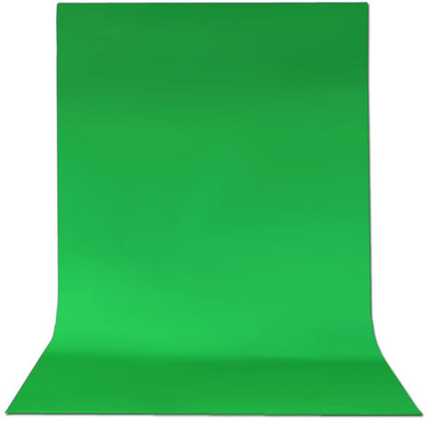 ePhotoInc Photo Video Chromakey Green Muslin Backdrop 100% Photography Photo Video Green Screen