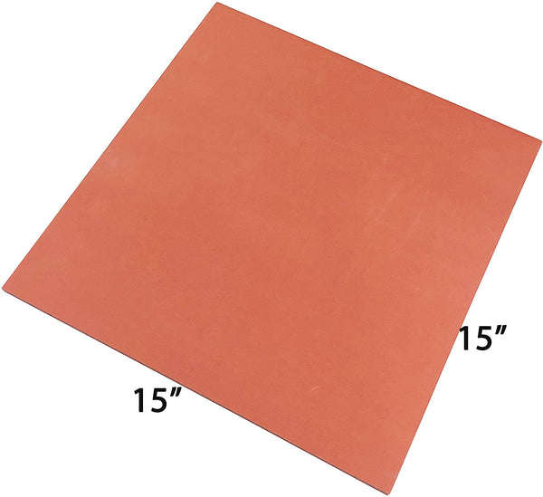 Silicone Pad Flat Heat Press Replacement Heat Resistant Silicone Mat 15 x 15 Inches