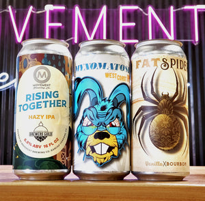 6-4pks Mix Pack // 2-Myxomatosis + 2-Rising Together + 2-Fat Spider