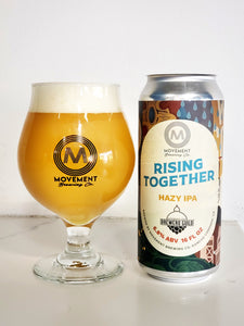 Rising Together //HAZY IPA // 24 Pack- 16oz cans
