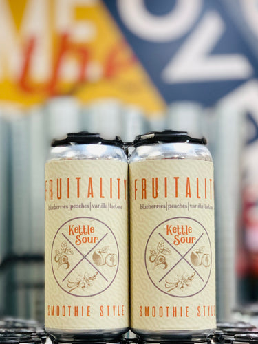 Fruitality // Smoothie Style Kettle Sour // 24 Pack- 16oz cans