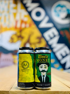 Uncle Money // Pilsner// 24qty -16oz cans