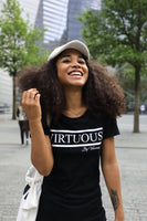 Black 'Virtuous' Tee