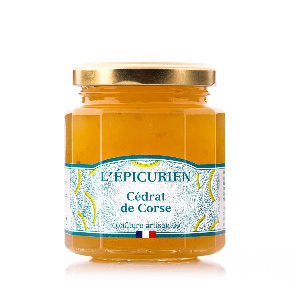 Cédrat de Corse confiture collection L'Épicurien
