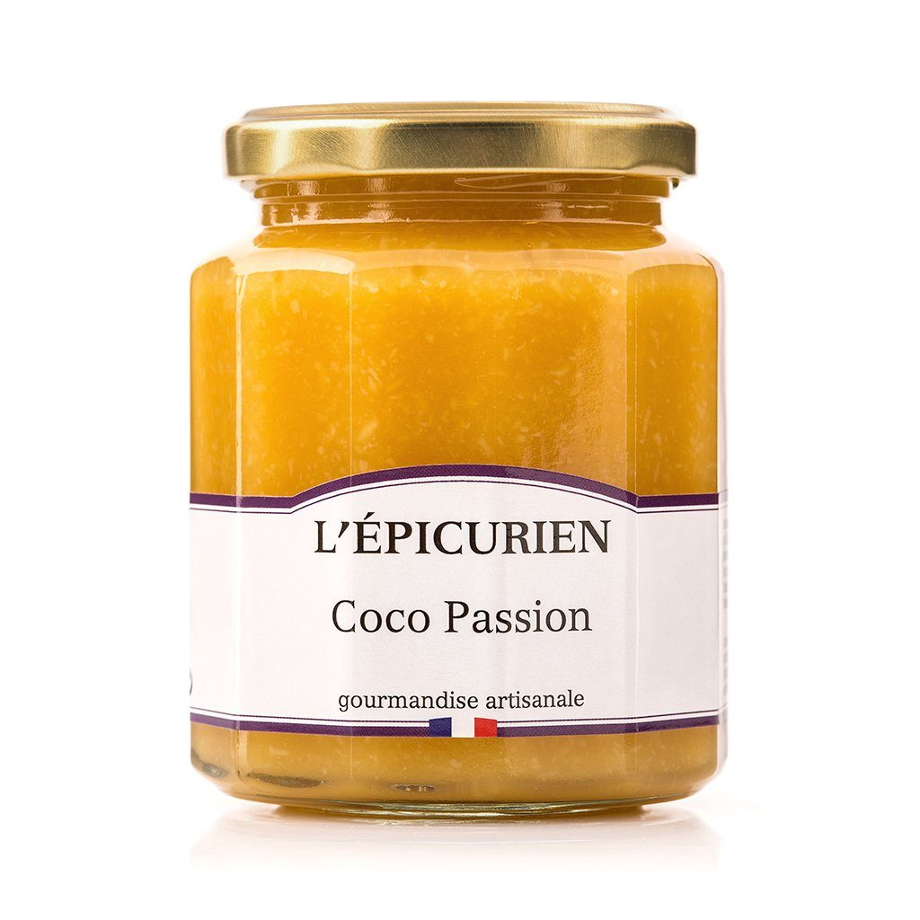 Coco Passion confiture L'Épicurien
