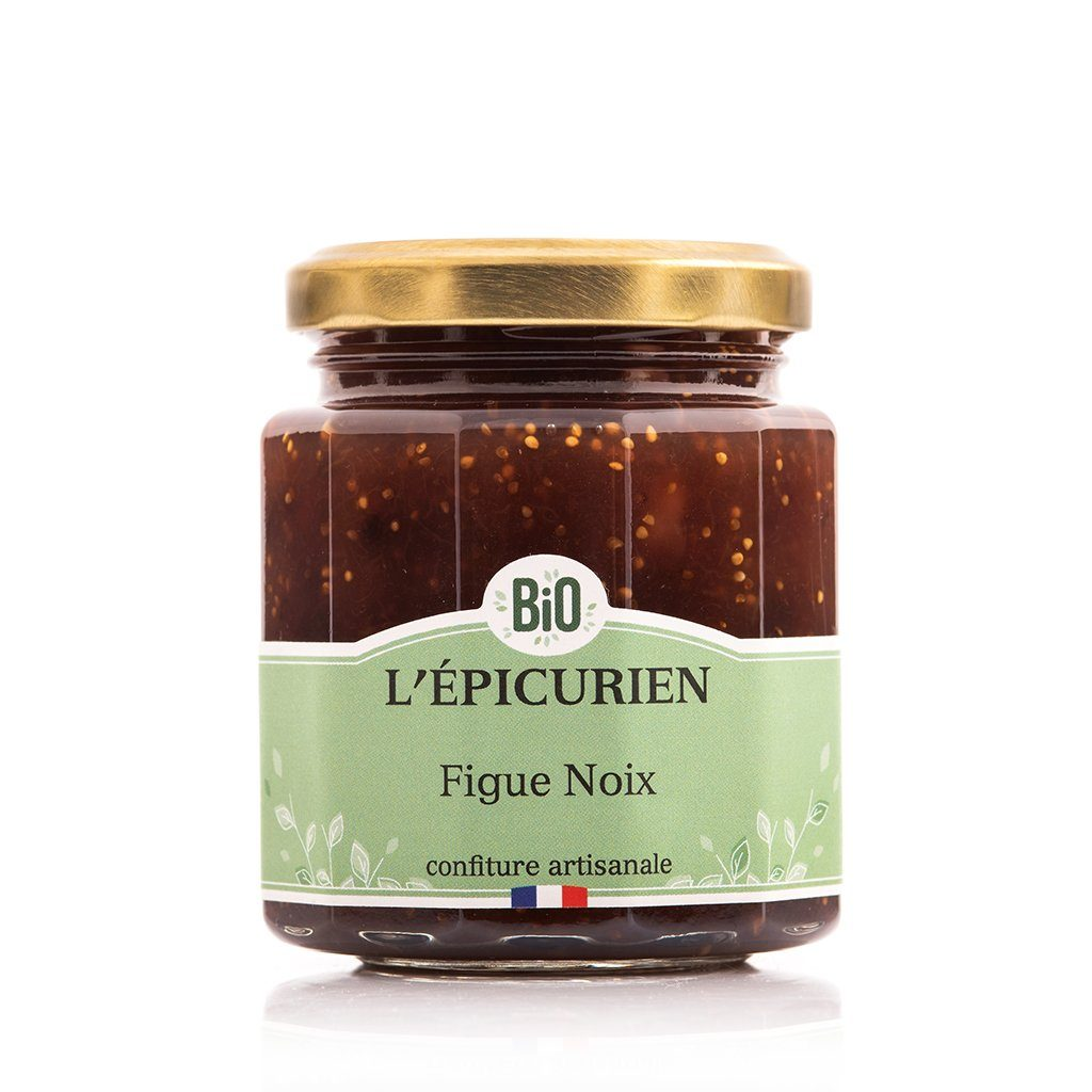 Figue Noix Bio confiture bio L'Épicurien