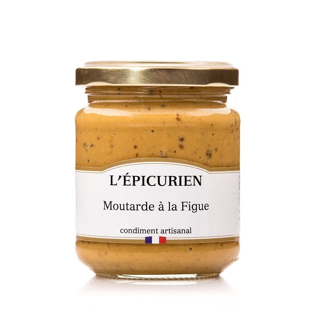 Moutarde à la Figue condiment L'Épicurien