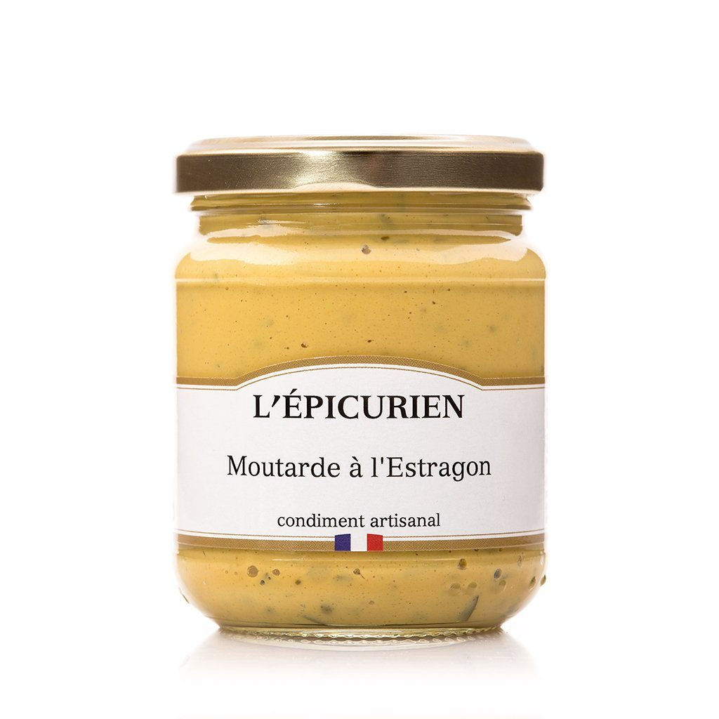 Moutarde à l'Estragon condiment L'Épicurien