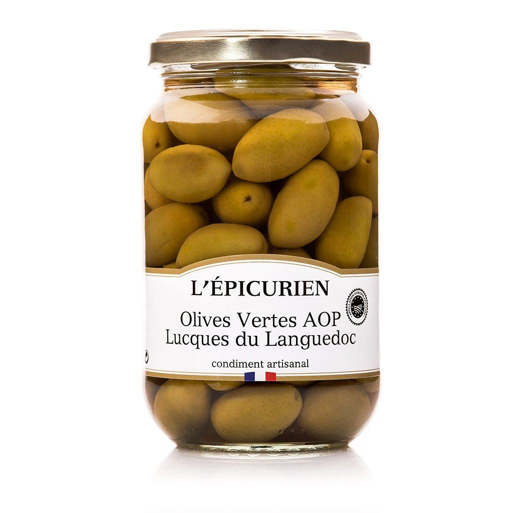 Olives Vertes AOP Lucques du Languedoc tartinable L'Épicurien