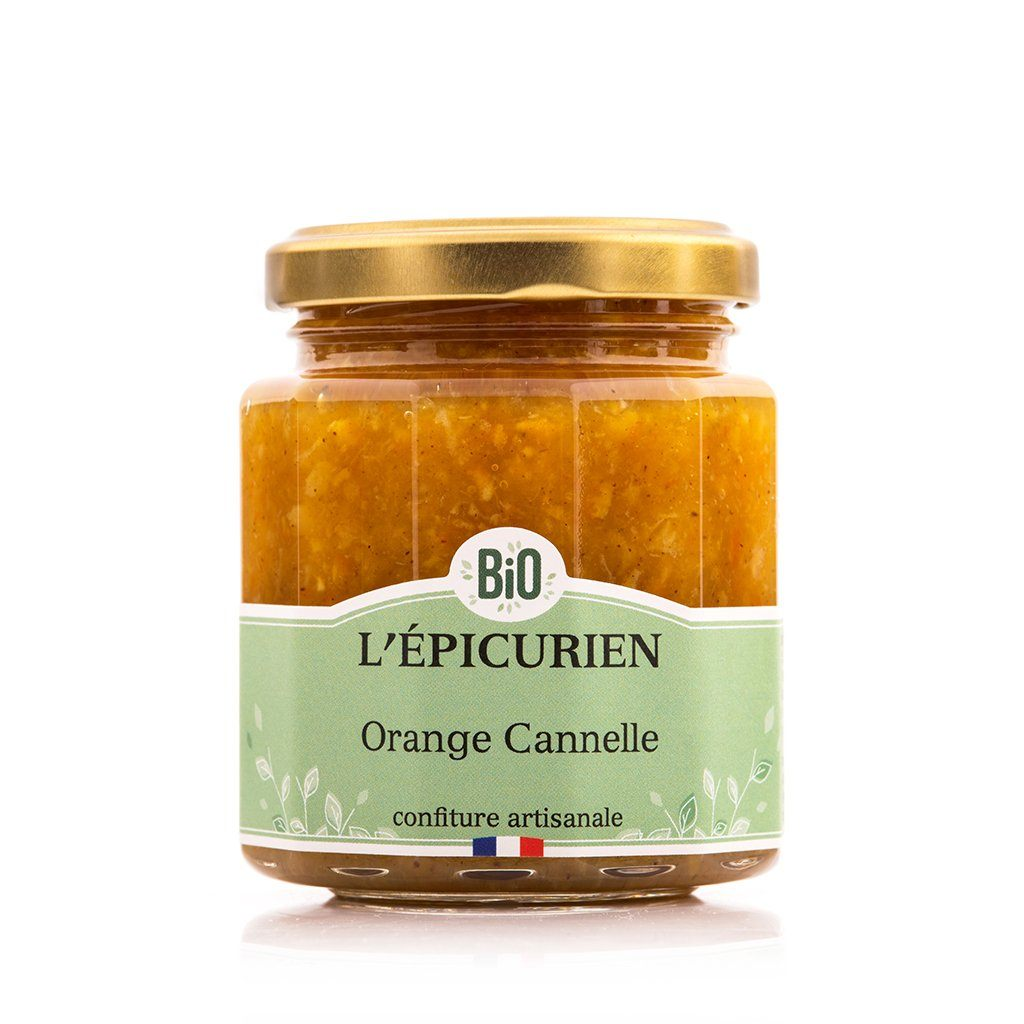 Orange Cannelle Bio confiture bio L'Épicurien