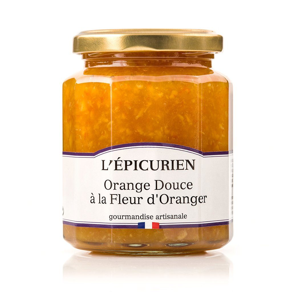 Orange Douce à la Fleur d'Oranger confiture L'Épicurien