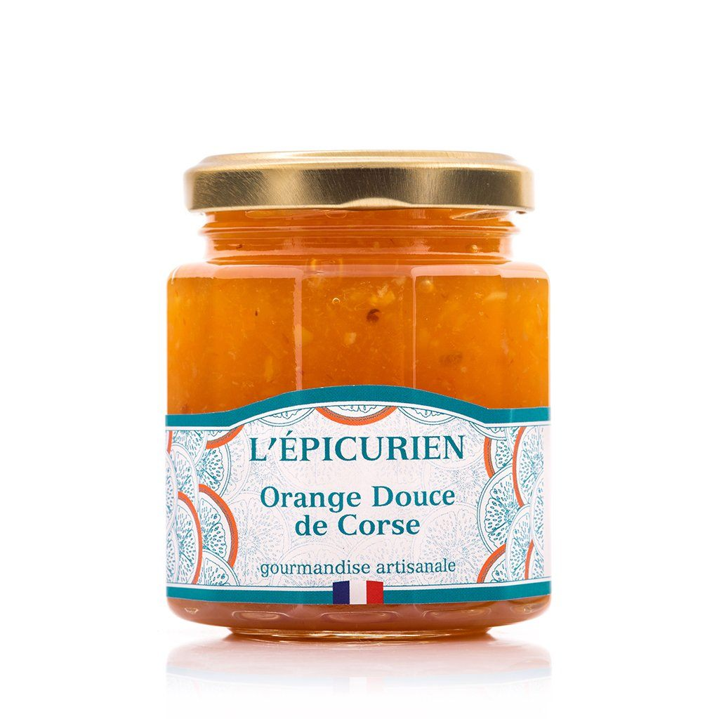 Orange Douce de Corse confiture collection L'Épicurien