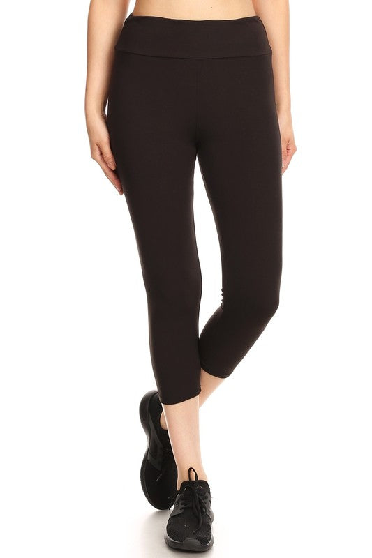 BUTTERY-SOFT CAPRI LEGGINGS | BLACK, NAVY + CHARCOAL
