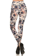 Load image into Gallery viewer, FALL FLORAL BUTTERY-SOFT LEGGINGS | REGULAR + PLUS