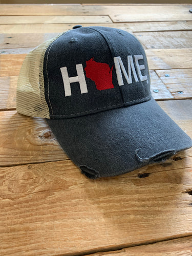 WISCONSIN HOME HAT
