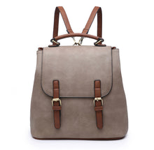 Load image into Gallery viewer, CONVERTIBLE 2-TONE BACKPACK | 2 COLORS
