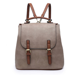 CONVERTIBLE 2-TONE BACKPACK | 2 COLORS