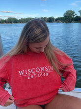 Load image into Gallery viewer, WISCONSIN CORDED SWEATSHIRT
