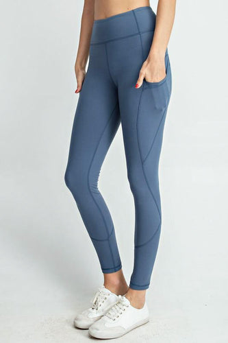 FULL LENGTH LEGGINGS WITH POCKETS | 3 COLORS