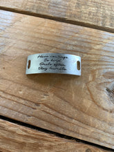 Load image into Gallery viewer, BUILD YOUR OWN INSPIRATIONAL CUFF OR BANGLE