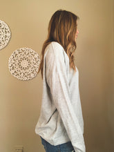 Load image into Gallery viewer, LIGHTWEIGHT OVERSIZED SWEATER | SAGE + GREY