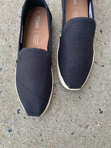 TOMS BLACK DECONSTRUCTED ALPARGATA