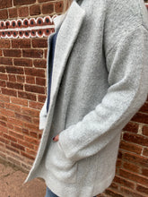 Load image into Gallery viewer, CHUNKY GREY CARDIGAN