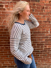 Load image into Gallery viewer, SOFT HACCI STRIPE PULLOVER