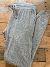 Load image into Gallery viewer, Z SUPPLY GREY MARLED JOGGER PANT