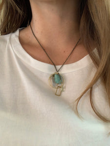 CLUSTER NECKLACE | 5 COLORS