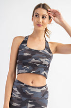 Load image into Gallery viewer, BUTTERY-SOFT CAMO SPORTS BRA