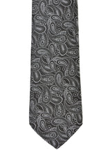 Black and White Paisley I